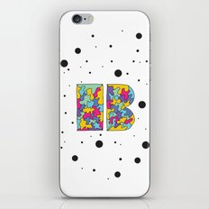 Letter B iPhone & iPod Skin