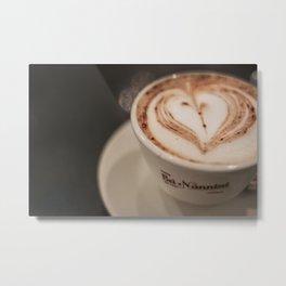 Pisa Cappuccino Metal Print