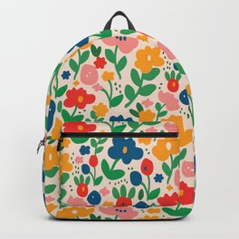 Retro Floral Realness Backpack
