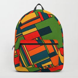 African geometric pattern Backpack