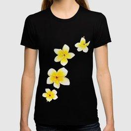 Common Frangipani watercolor T-shirt