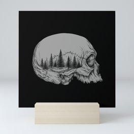 SKULL/FOREST II Mini Art Print