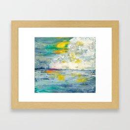 """""""Cloud Dancer"""" ~ 2015 Framed Art Print"""