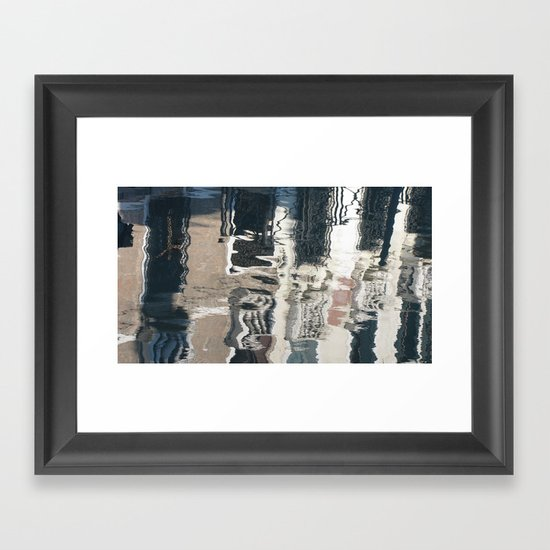 Bizarre Reflection  Framed Art Print