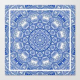 Blue Radiance Canvas Print