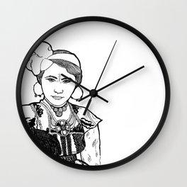 Ouled Naïl Woman Wall Clock