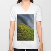 moss V-neck T-shirts featuring Moss by Ezekiel