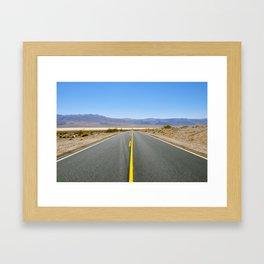 Endless Highway, Death Valley National Park, California, USA Framed Art Print