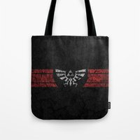 triforce Tote Bags featuring TRIFORCE by Stagg Designs