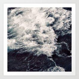 Rush of Waves Art Print