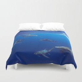 Shark Squad Duvet Cover