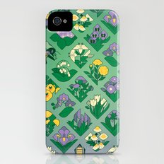 Flower Field iPhone (4, 4s) Slim Case