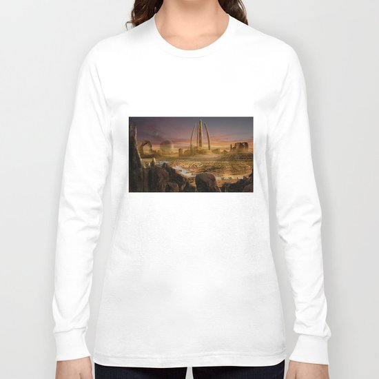 Red City Long Sleeve T-shirt