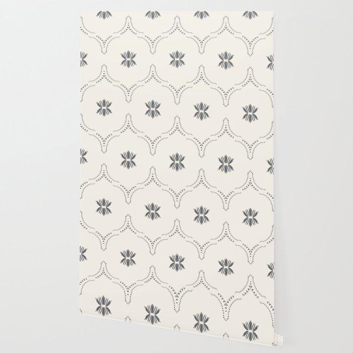 WILDFLOWER JASMIN GREY Wallpaper