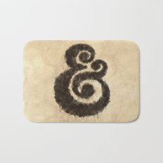 Ink Ampersand Bath Mat
