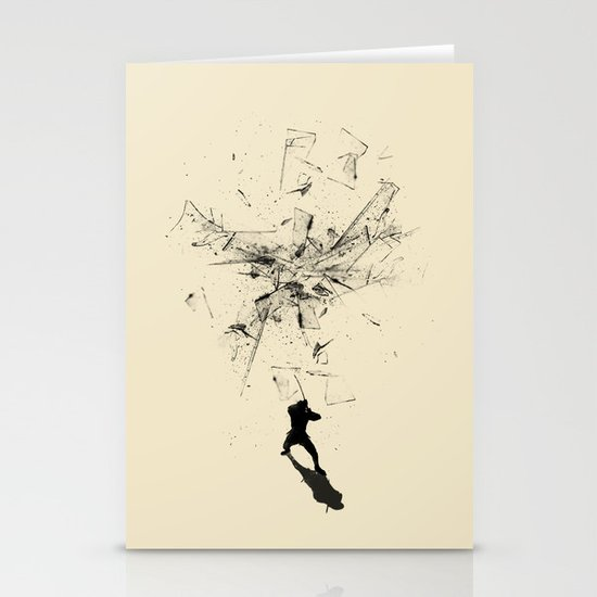 Ninja Moves Stationery Cards