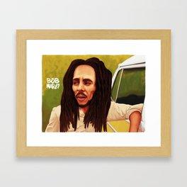 Caricature Framed Art Print