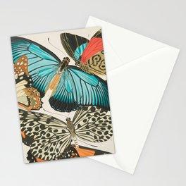Butterfly Print by E.A. Seguy, 1925 #2 Stationery Cards