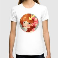 lily T-shirts featuring Lily by Jenny Lloyd Illustration