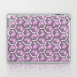 Pink and mint Laptop & iPad Skin