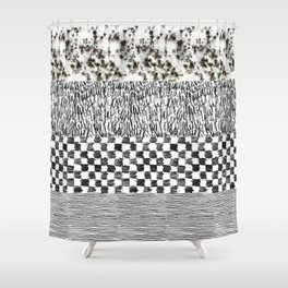 Texture Fever Shower Curtain
