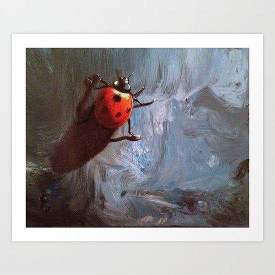 my little ladybug Art Print