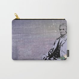 Inked Lincoln Carry-All Pouch