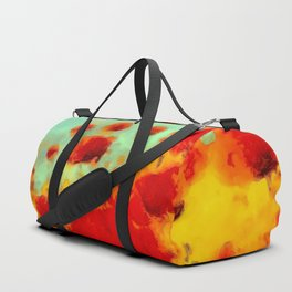 FLOWERS - Poppy time Duffle Bag