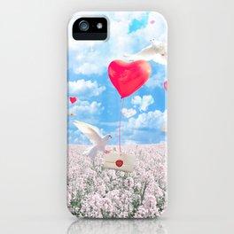 Nameless Romance iPhone Case