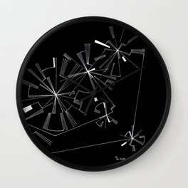 In Motion 2 Wall Clock