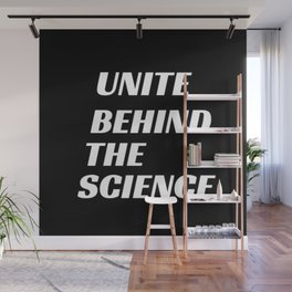 Unite Behind the Science with Climate Activist Greta Thunberg Wall Mural