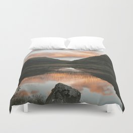 Time Is Precious - Landscape Photography Duvet Cover