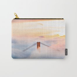 Golden Gate Bridge at Sunrise from Hawk Hill - San Francisco, California Carry-All Pouch