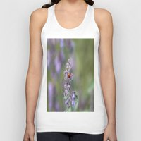 ladybug Tank Tops featuring Ladybug by Stecker Photographie