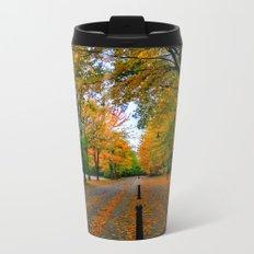 Fall road Metal Travel Mug