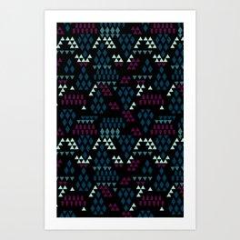 Geometric Mix Art Print