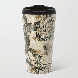 Peony Prints Travel Mug