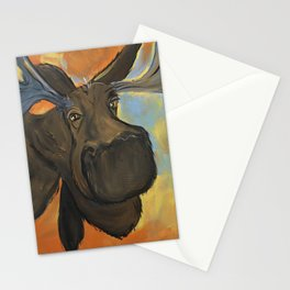 Moosying Along Stationery Cards