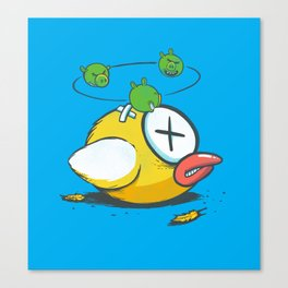 Not So Flappy now Canvas Print
