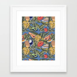 El Cochinito Wallpaper Framed Art Print