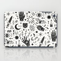 occult iPad Cases featuring Witchcraft II by LordofMasks