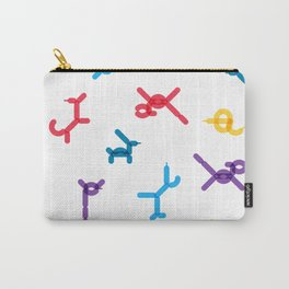 Balloon animals pattern #1 Carry-All Pouch