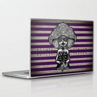 mushroom Laptop & iPad Skins featuring Mushroom by AKIKO