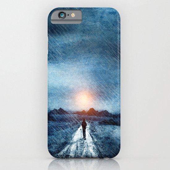 it's raining again iPhone & iPod Case