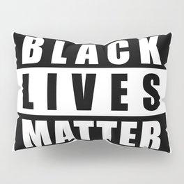 Black Lives Matter Logo, BLM Logo Block Letters, BLM, Extra Large Super Sharp Graphic 4X3 JPG Pillow Sham