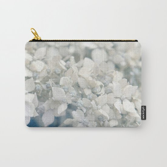 Beautiful White Hydrangea 276 Carry-All Pouch