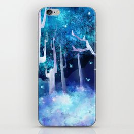 Forest of Fireflies iPhone Skin