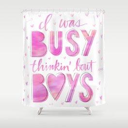 Boys Shower Curtain