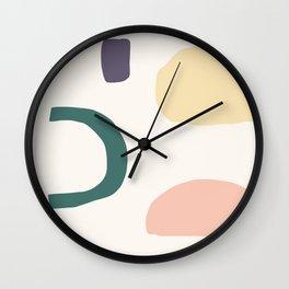 Blobby No. 8 Wall Clock