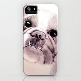 Bully Bull Dog iPhone Case